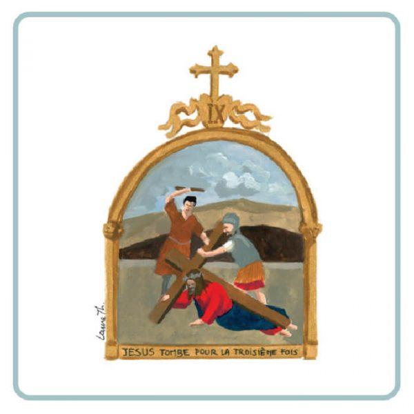 carte du mémo visite à l'église 1